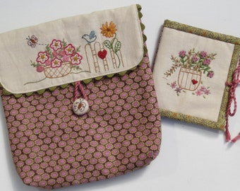 Fly Away - sewing pouch pdf pattern