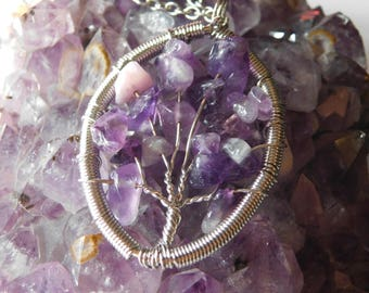 Amethyst Tree Necklace