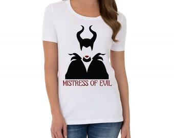 Mistress of Evil Maleficient  T-Shirt
