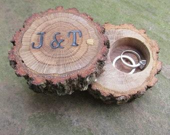 Oak Ring Box   Ring Bearer Box   Engagement Ring Box   Wedding Ring Box   Wood Ring Box