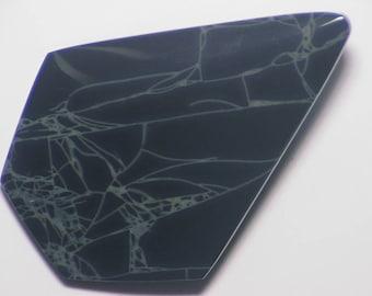 Spider Web Obsidian Cab. Spiderweb Obsidian Cab. Obsidian Cab.