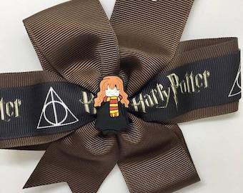 Harry Potter - Large: 12.5cm Pinwheel Hair Bow Clip