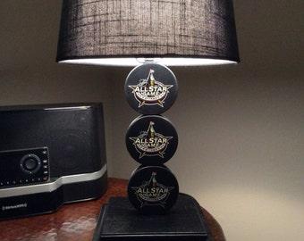 2012 Ottawa All Star Game Hockey Puck Lamp