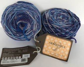 Araucania -Lauca  color-12...Free domestic shipping