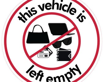 Empty Vehicle Decal with Stuff