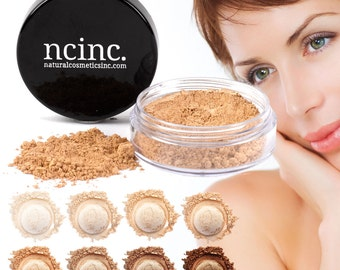 Naked Skin Mineral Makeup Foundation 10ml (3g) by NCinc.