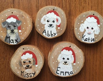 Custom Pet Ornament - Personallized Pet Ornament - Christmas Ornament - Cat Ornament - Dog Ornament - Animal Ornament