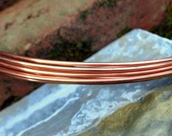 6G cuivre rond solide fil nu - livraison gratuite USA