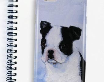 Boston Terrier phone case, iPhone 5, iPhone 6, iPhone 7, iPhone 8, Samsung