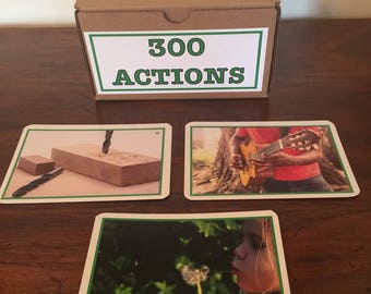 300 Actions in Pictures!