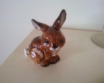 Vintage Goebel Rabbit Figurine - Easter Bunny - Vintage Rabbit Figurine - Rabbit Figurine - Bunny Statue - Vintage Easter Decor