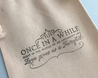 Muslin Drawstring Favor Bags: Wedding, Engagement, or Bachelorette Muslin Favor Bags, Engagement Gift Bag, Wedding Supplies