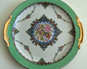 Vintage NORITAKE Porcelain Serving Plate Japan 1930s