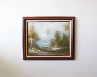 Original Painting | Original Landscape Painting | Gallery Wall | Painting | Landscape | Art | Wall Art | Mountains | Mountains And Valley