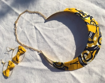 Necklace ethical wax