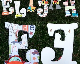 Car Themed Nursery Letters