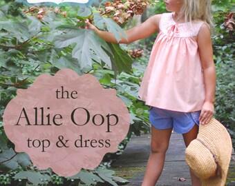 BG Originals Allie Oop (top & dress) pdf pattern