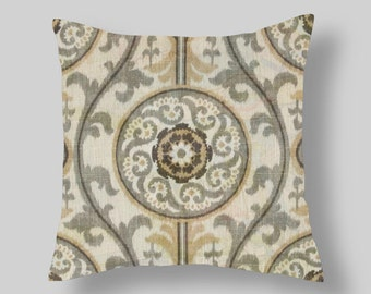 Brown  Pillow Covers  Decorative Pillows  Brown Grey Pillows  Size Choice  Accent Pillows Throw Pillows Decorative Pillows Home