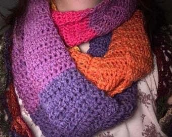 Crochet Cowl - Your choice of colour!