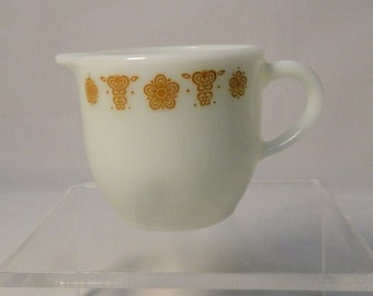 Butterfly Gold pattern Pyrex Creamer