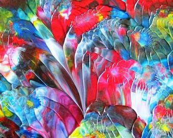 Spiritual Garden Abstract Acrylic Painting