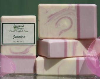 Jasmine Handmade Cold Process Soap