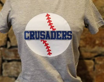 Customized Baseball Tee