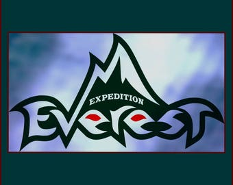 Expedition Everest  SVG - Disney SVG - PNG - Jpeg files - Animal Kingdom Expedition Everest  designs for Cricut and silhouette