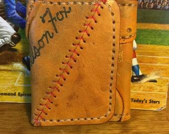Nelson Fox tri-fold wallet