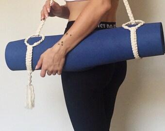 Macramé Yoga Mat Strap