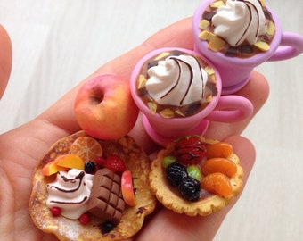 Miniature sweets for dolls