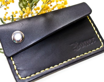 Mini Card Holder Mini Wallet for Her or for Him Small Wallet