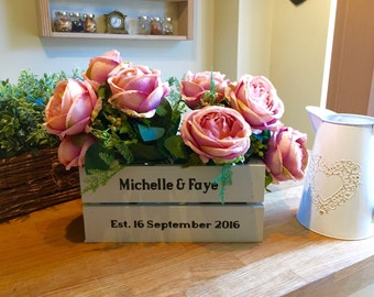 Wedding / anniversary boxes