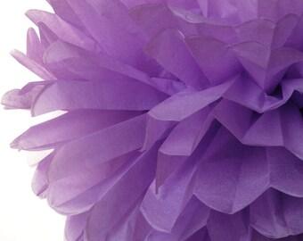 Lavender 1 Large Tissue Paper Pom Poms