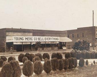 Heavener, Oklahoma Vintage Photo Main Street