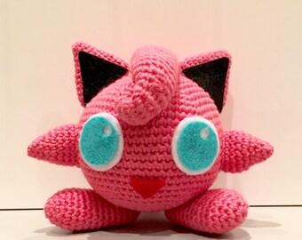 Jigglypuff crochet pattern / PDF EN