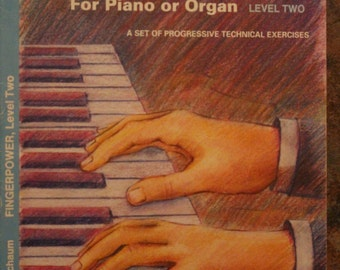 John W. Schaum  FingerPower  For Piano or Organ  Level Two