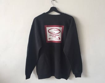 Vintage Secret Surfer Studio sweatshirt