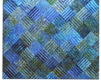 Quilt Pattern - Underground Blues by Designs by jb