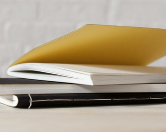 Black Softcover Cloth Notebook | Sketchbook | Journal