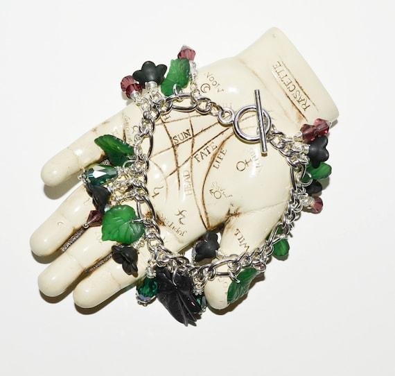 Charm Bracelet - Vine Leaf