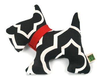 Extra Durable Small Dog Toy - Little Scottie Dog