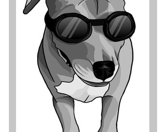 Doggles Poster Print