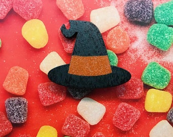 SALE Witch Hat Brooch