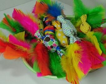 Cat toys, party popper cat toys, pet toys, cat supplies, pet supplies, cat feather toy