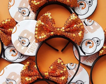 BB8 Mouse Ears