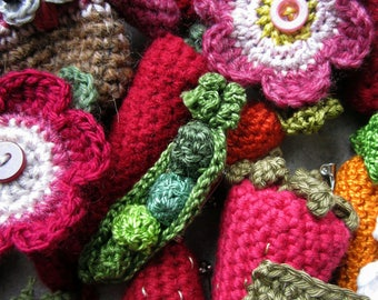 SET of 4 Crochet Patterns - You Choose!