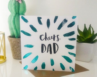 Father's Day card, Father's day gift, dad card, funny father's day card, step dad card, step dad father's day card, funny step dad card