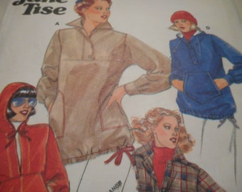 Vintage 1970's Butterick 5628 Top Sewing Pattern Size 12 Bust 34