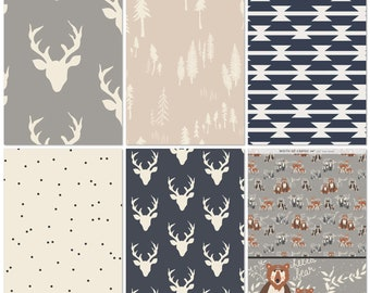 Woodland Cotton Fabric Bundle-Art gallery fabrics
